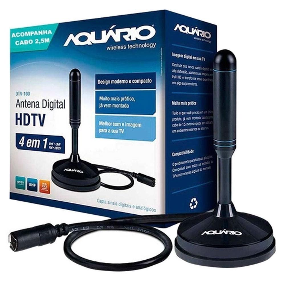 Antena digital interna HDTV DTV-100