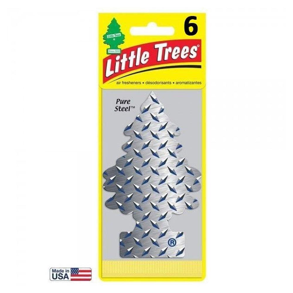 Aromatizante Automotivo Little Trees Pure Steel
