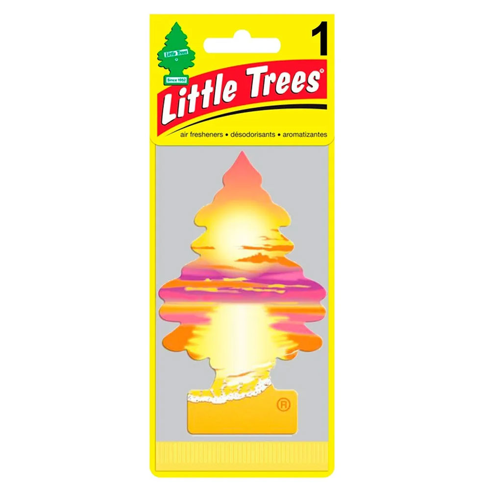 Aromatizante Automotivo Little Trees Sunset Beach