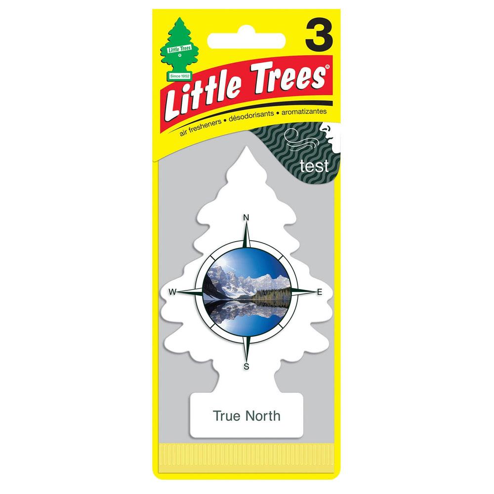 Aromatizante Automotivo Little Trees True North