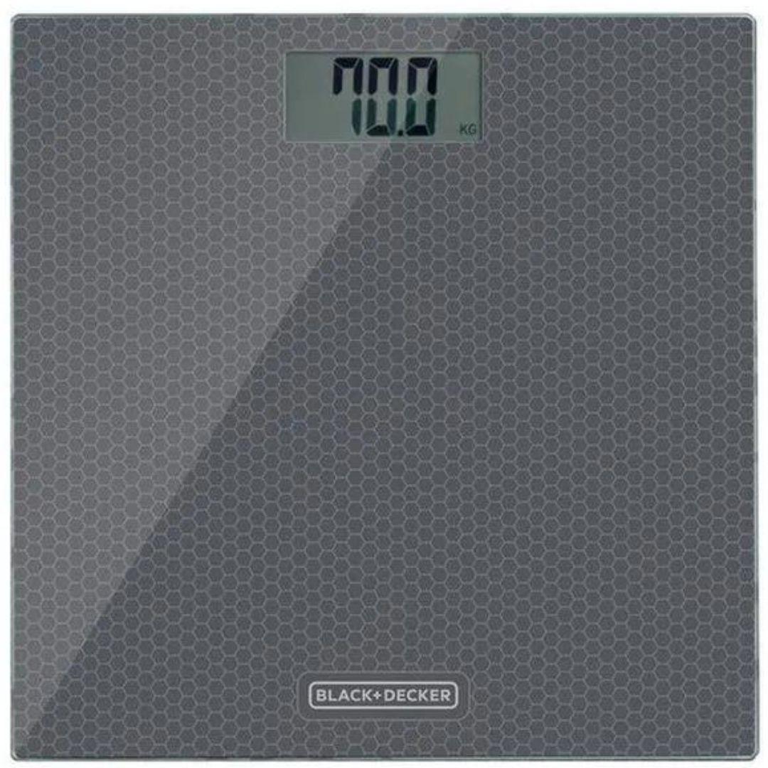 Balança Corporal Digital Black Decker BK40-BR Cinza - 180Kg