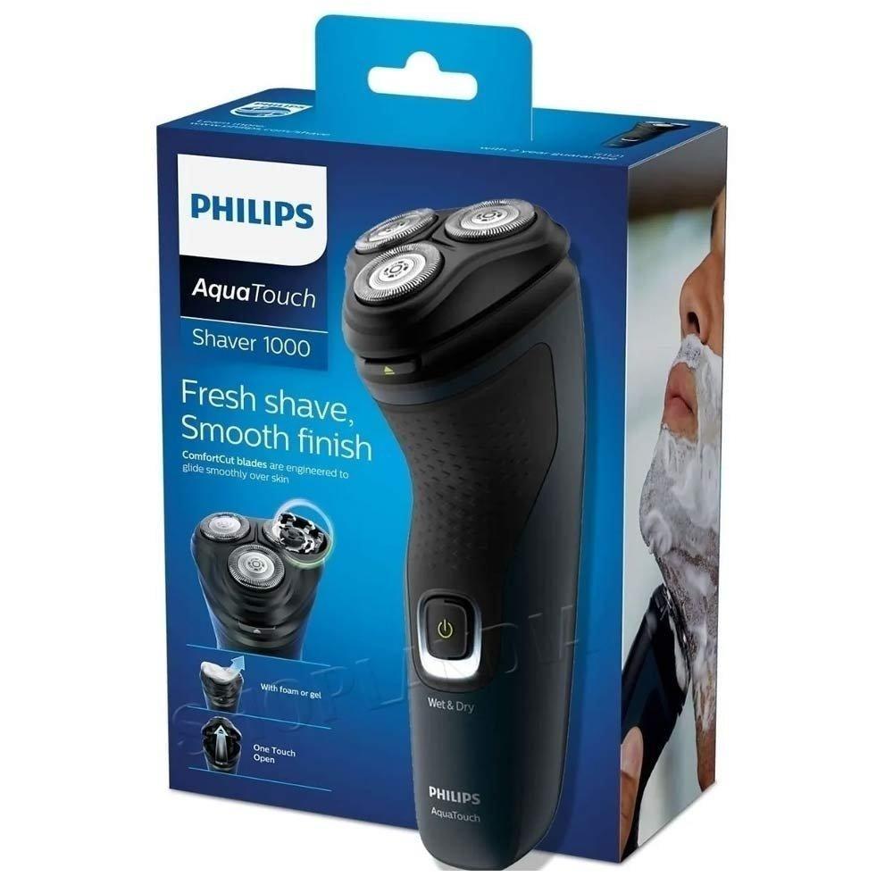 Barbeador Elétrico Philips Seco Molhado S1121/41 Shaver 1100 Bivolt