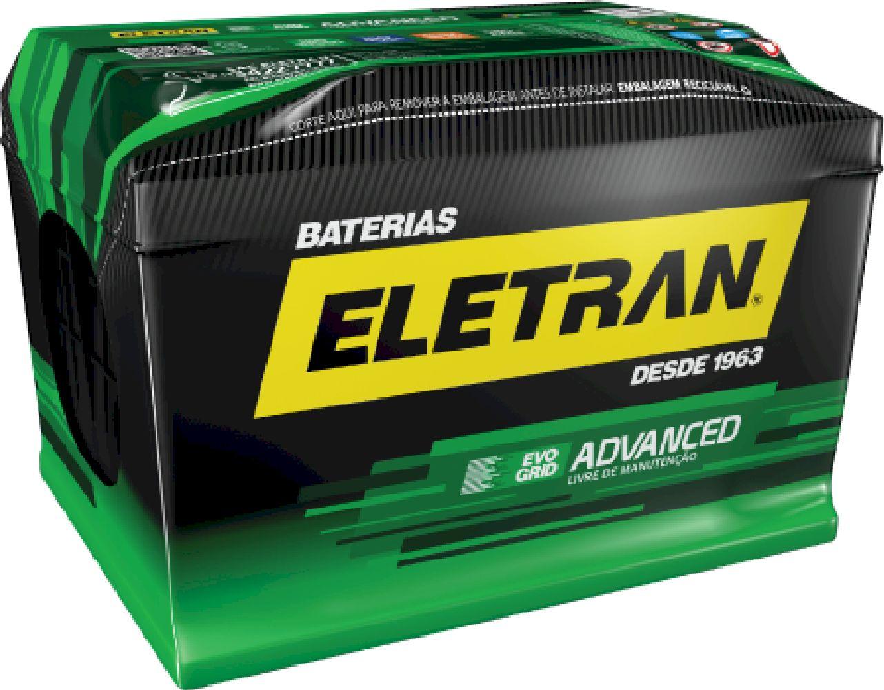 Bateria Automotiva Eletran Advanced - 60 PD