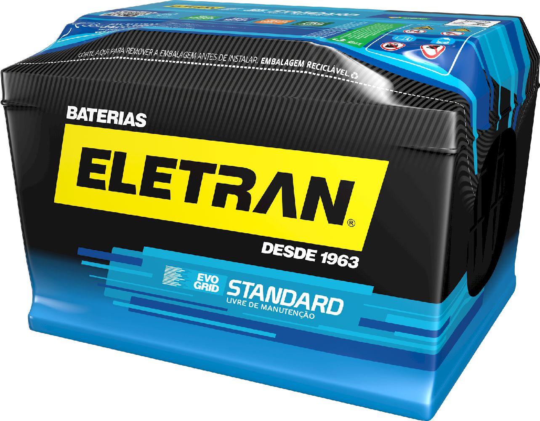 Bateria Automotiva Eletran Standard - 60 PD