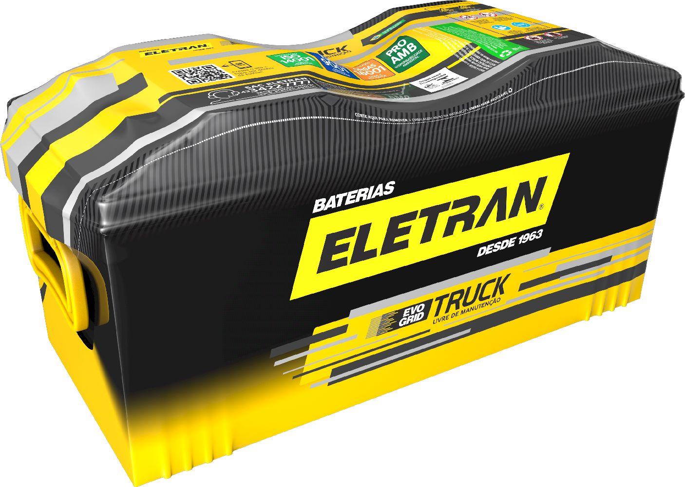 Bateria Automotiva Eletran Truck - 90 PE
