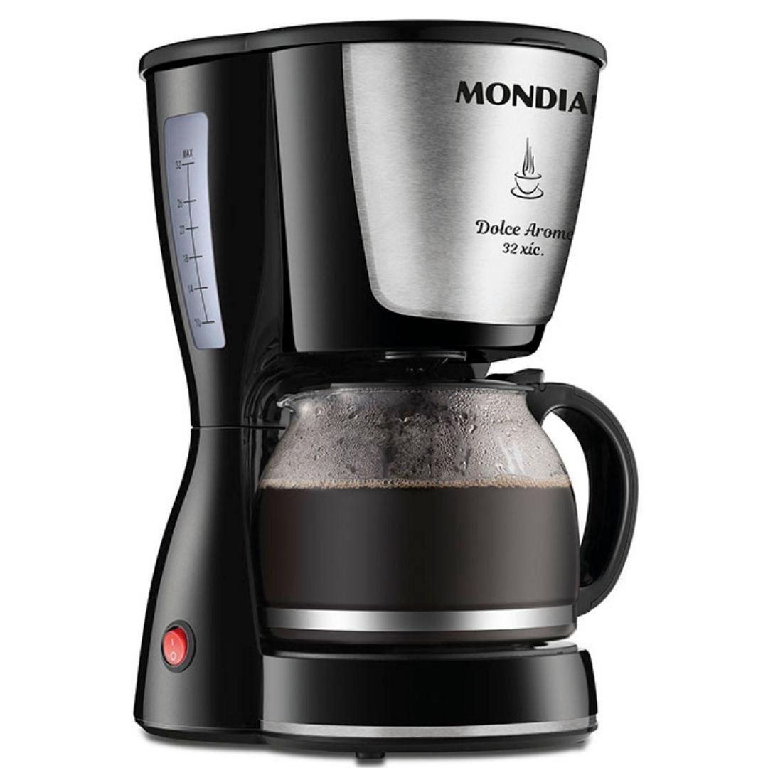 Cafeteira Elétrica Mondial Dolce Arome 800W C-32-32X - 110V / 220 V