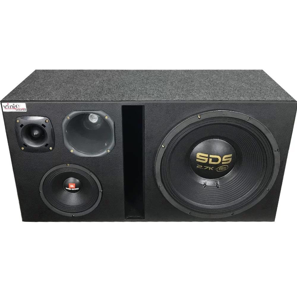 Caixa 4 vias Eros SDS 2.7 + MG600 + D250x + ST200