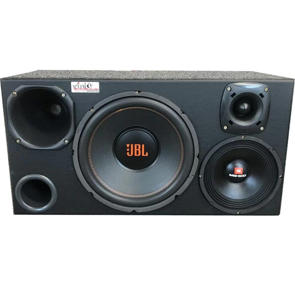 Caixa 4 vias JBL com Multisystem + 8MG600 + D200 + ST200