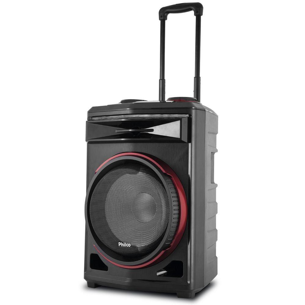 Caixa Acústica Philco PCX6500 380WRMS Bluethoot - Bivolt