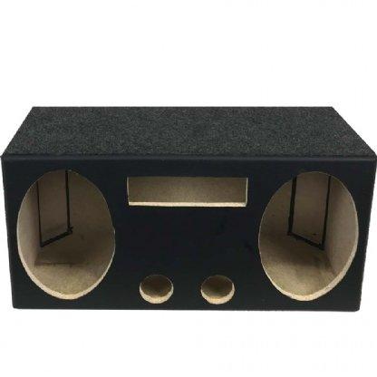 Caixa Automotiva Residencial vazia para 2 6x9 + Player