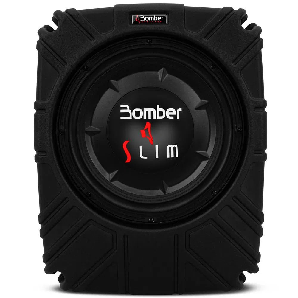 Caixa Bomber Slim 10 Polegadas B4 200 Watts RMS 4 Ohms