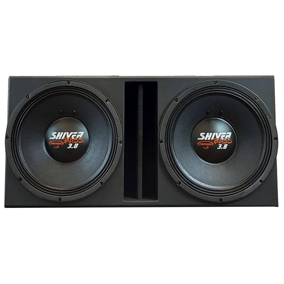 Caixa com 2 Shiver Bass 3.8 15 Polegadas
