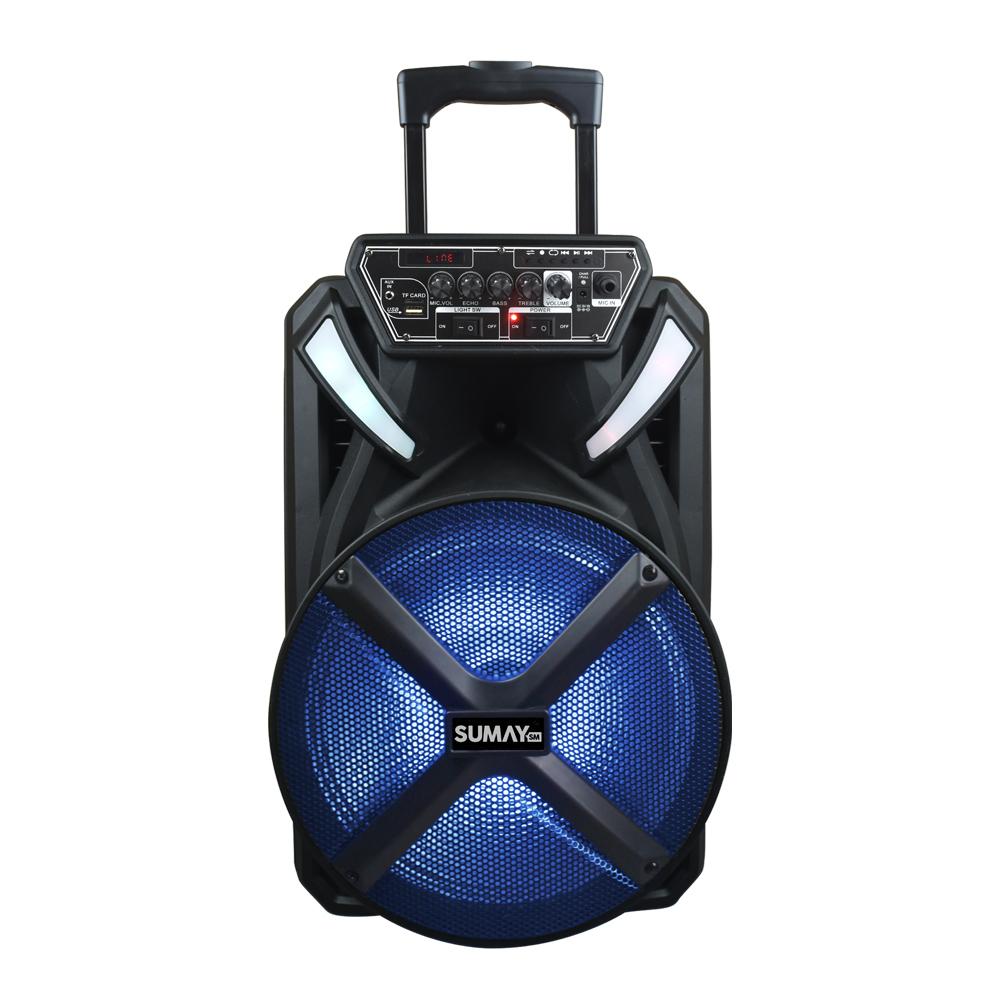 Caixa de Som Amplificada X-Prime BT 300 Wrms - Sumay