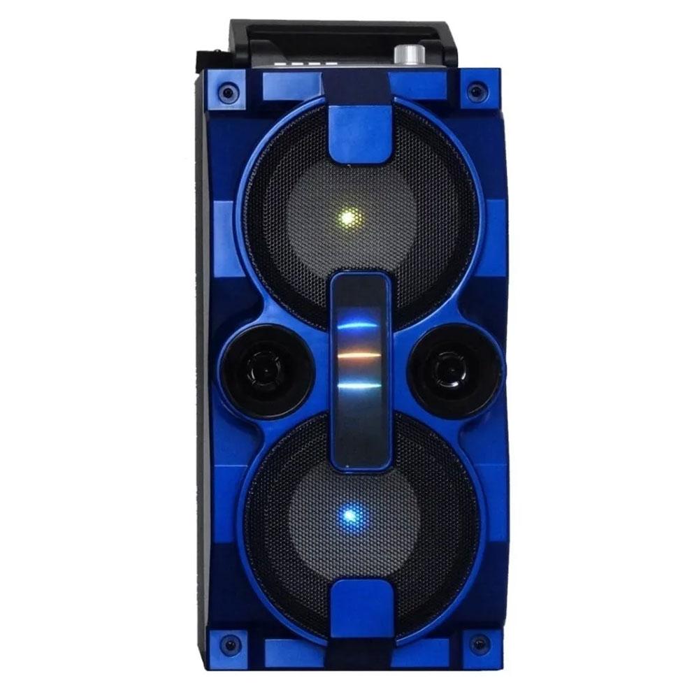 Caixa de Som Bluetooth Grasep D-BH2807 Azul
