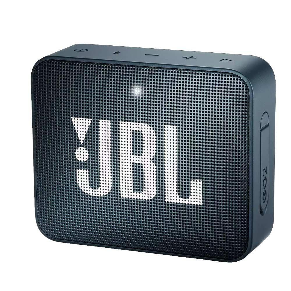 Caixa de Som Bluetooth JBL Go 2 à Prova d'água - Navy
