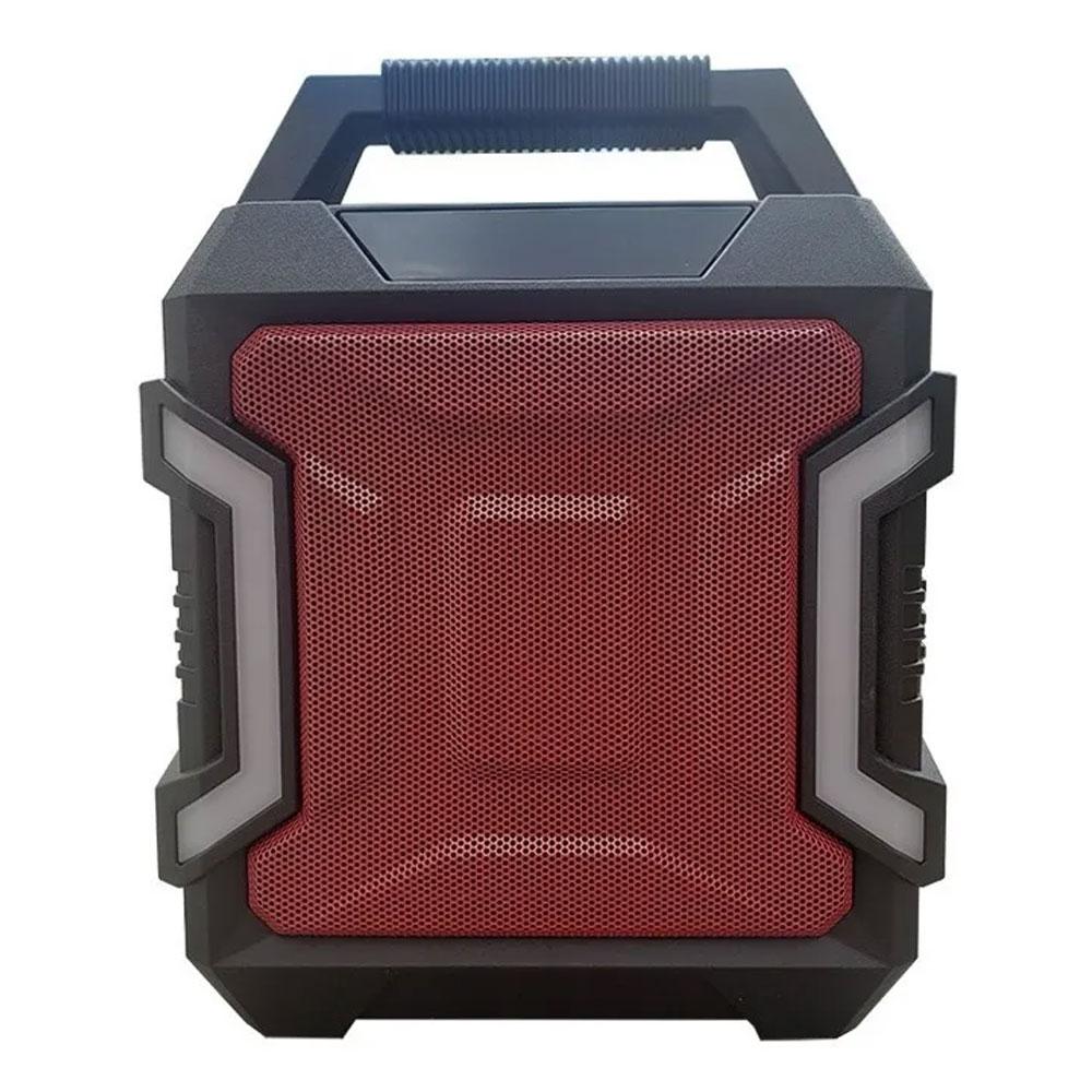 Caixa de Som Grasep Bluetooth/SD/USB D-K01 Vermelha