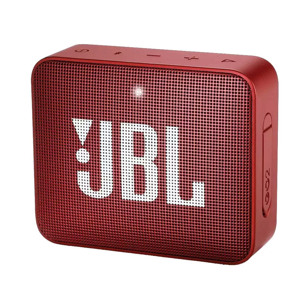 Caixa de som JBL Bluetooth Go 2 Red à prova d'água