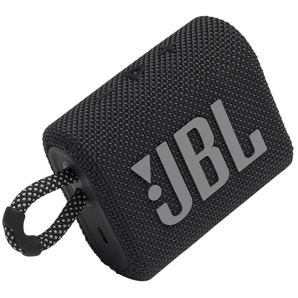 Caixa de Som Portátil JBL Go 3 Bluetooth À Prova De Poeira e Água