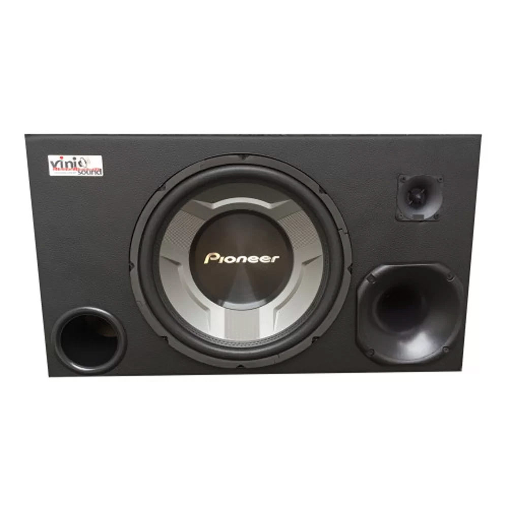 Caixa Subwoofer Pioneer TS-W3060BR 350WRMS 12 Pol + Driver + Tweeter