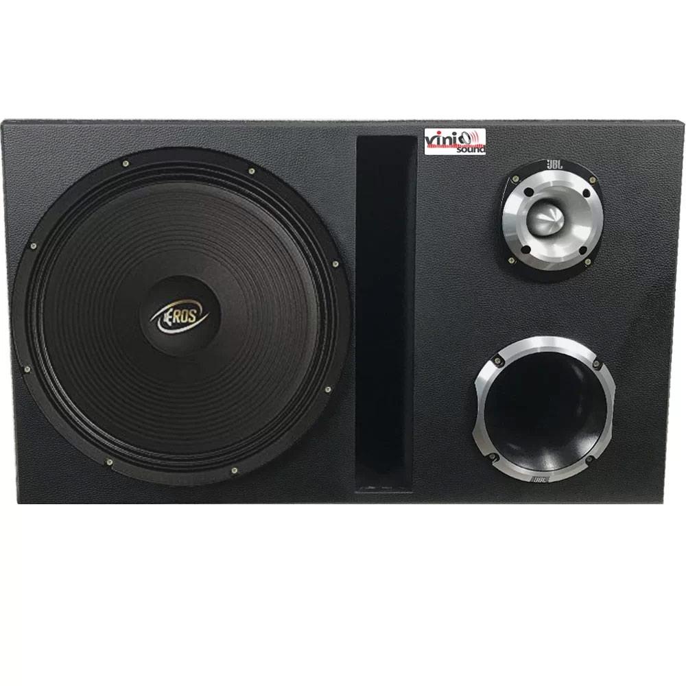 Caixa Trio Eros E-315 400W RMS + D405 + ST400