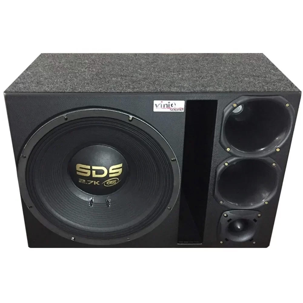 Caixa Trio Eros SDS 2.7k 15 Pol + 2 D250x + ST200