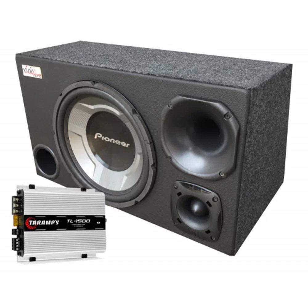 Caixa Trio Sub Pioneer TS-W3060BR 12