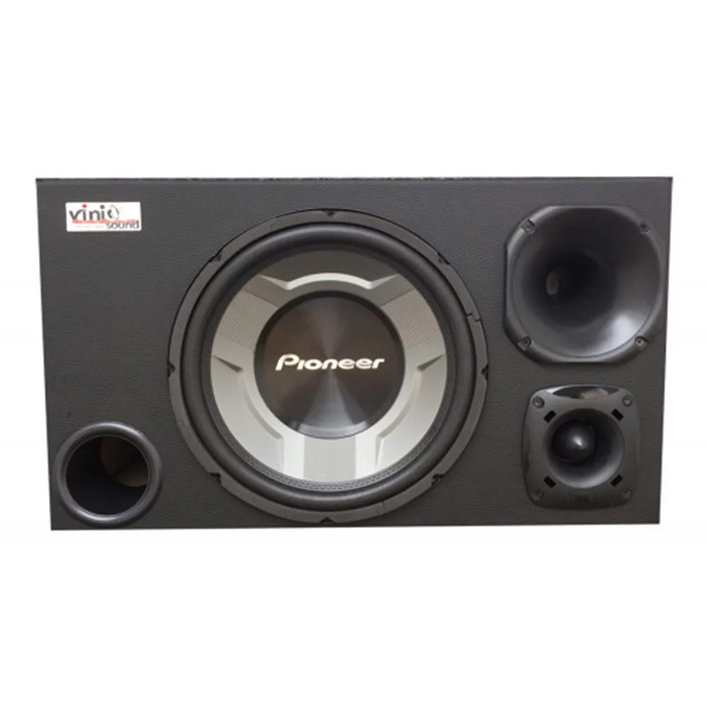 Caixa Trio Sub Pioneer TS-W3060BR 12 Pol + D250x + ST200