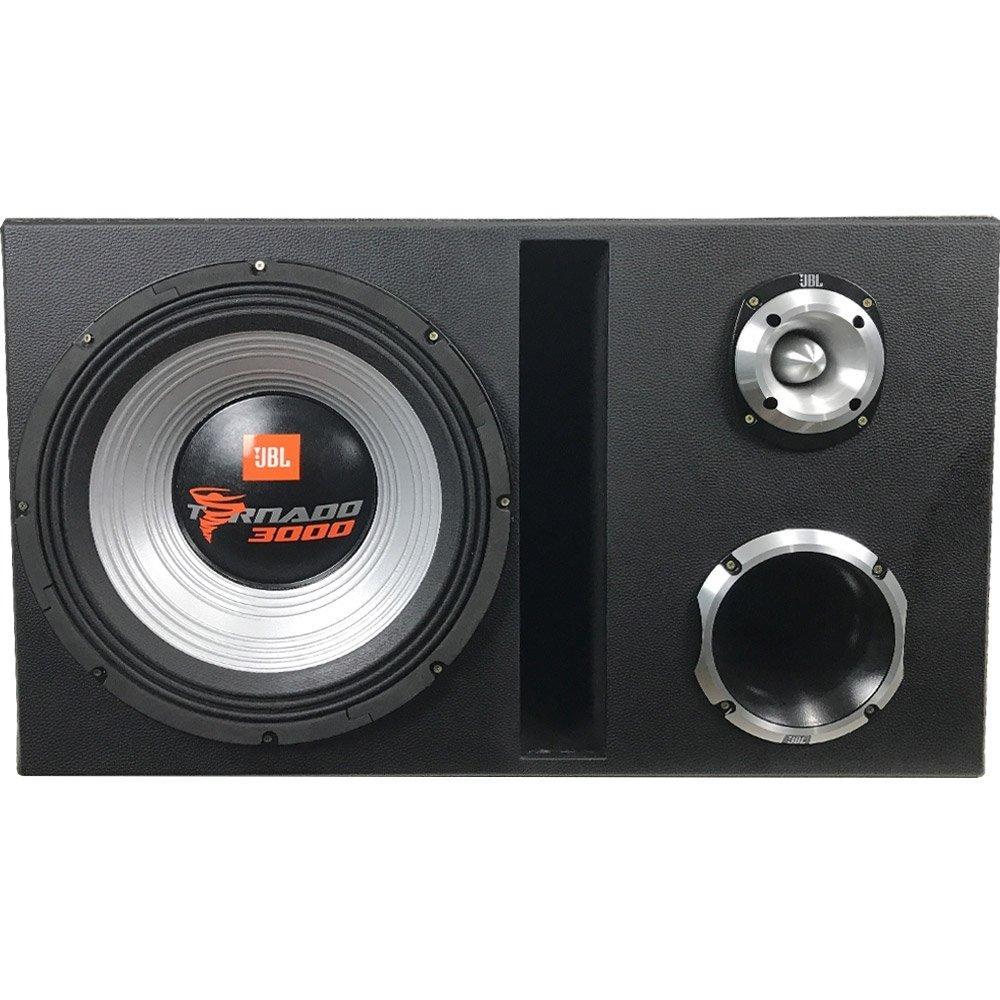 Caixa Trio Tornado 15swt3000 15 Pol + D250x + St400
