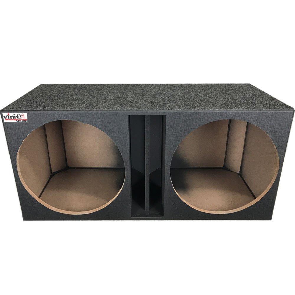 Caixa vazia Duto Régua para 2 Alto Falante 15 Polegadas Mad. 15mm