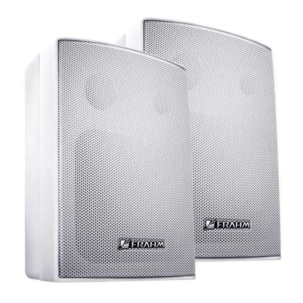 Caixa Acústica New PS200 PLUS 4'' 30W Com Suporte - Branca