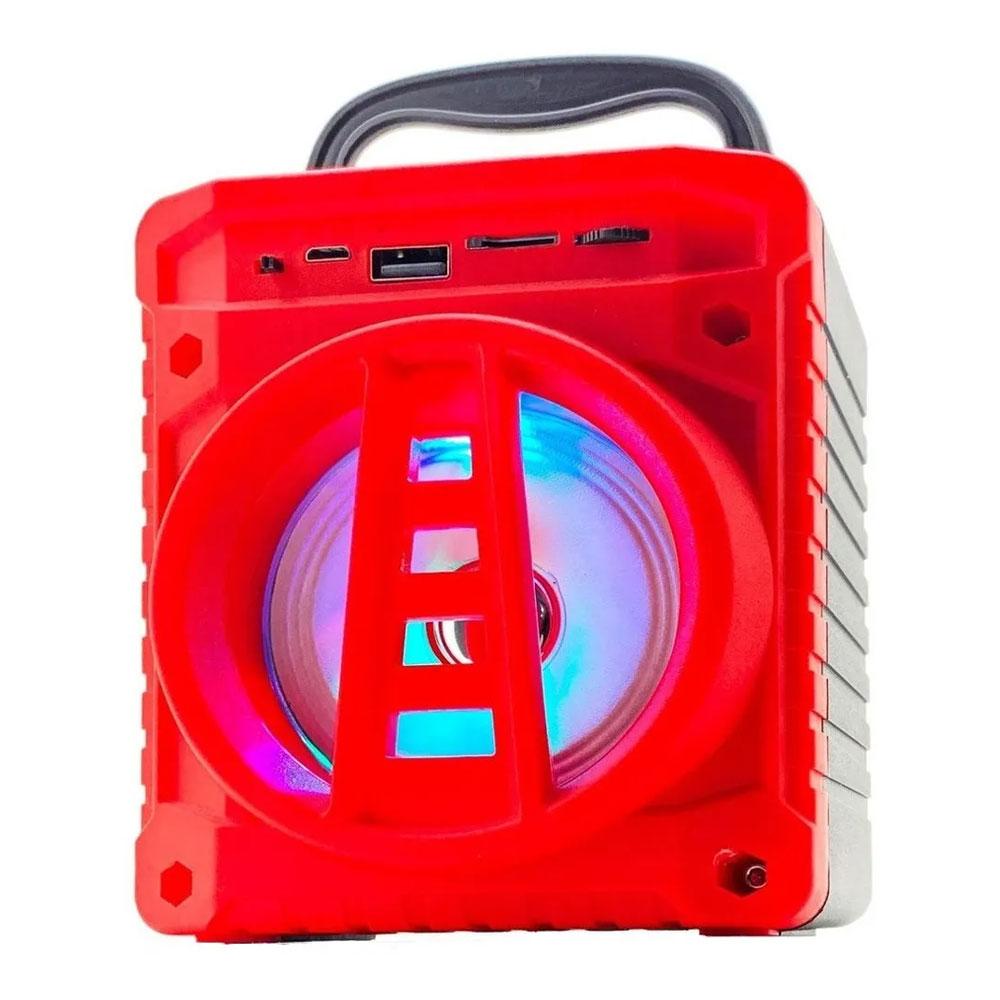 Caixinha De Som Portátil Bluetooth Grasep AL-301 Vermelha