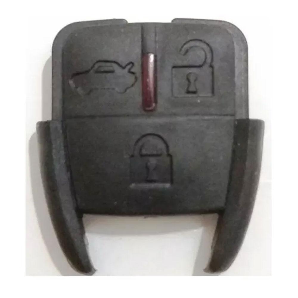 Capa Frontal Chave Chevrolet 3 Botões Cadeado