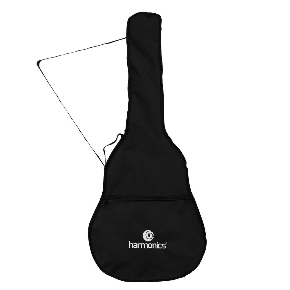 Capa para Violão Folk Nylon Harmonics Preta