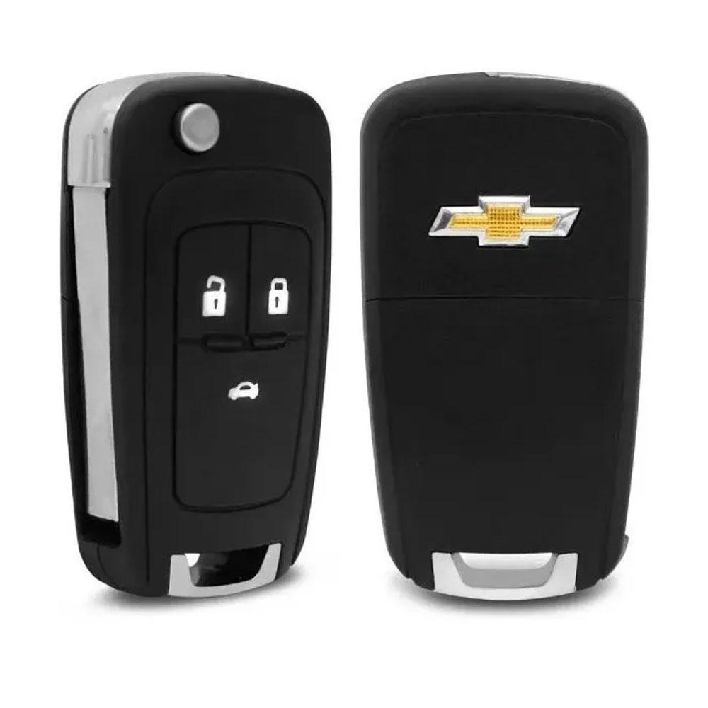 Carcaça Chave GM 3 Botões Direct Positron