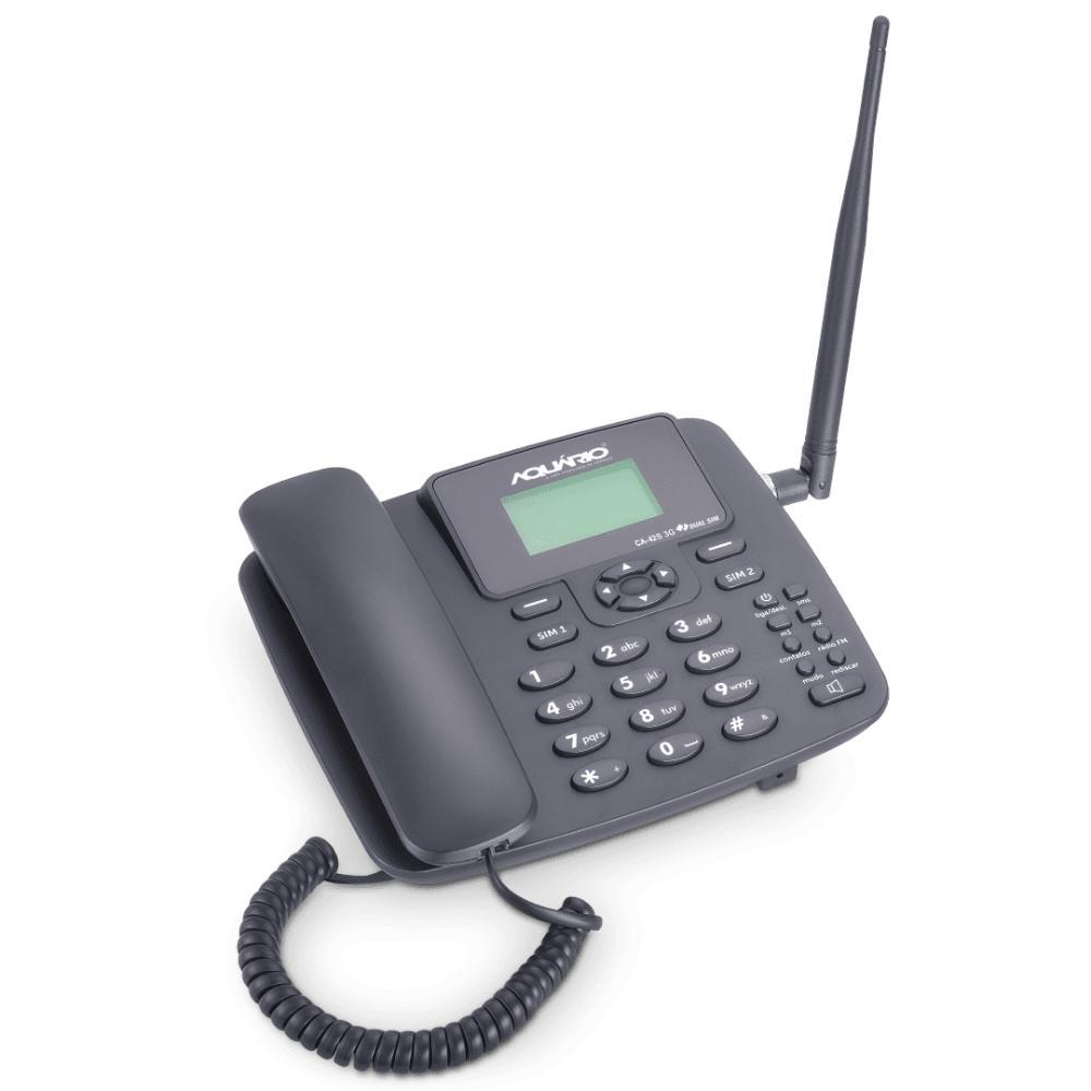 Celular De Mesa 3G Pentaband Dual Chip - CA-42S 3G