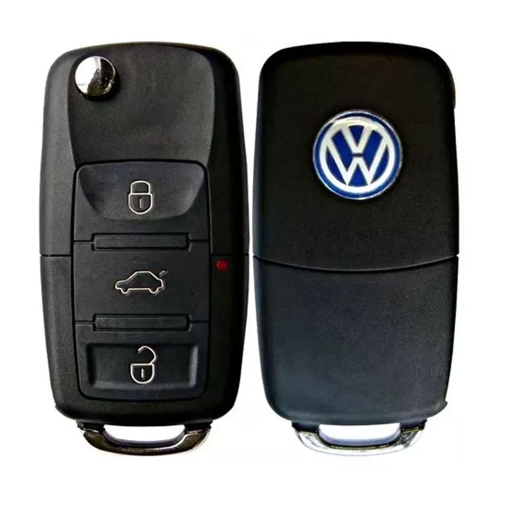 Chave Canivete Volkswagen Universal FKS/WR/Sistec/Eclipse/Defendertec/Microcontrol