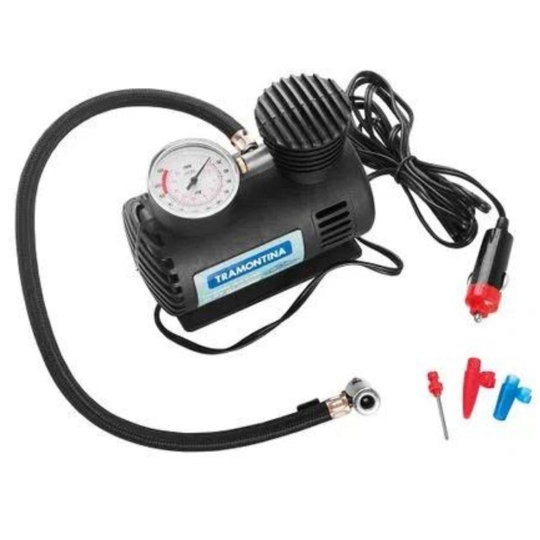 Compressor de Ar Portátil Tramontina 300 Psi 50 W 12 V
