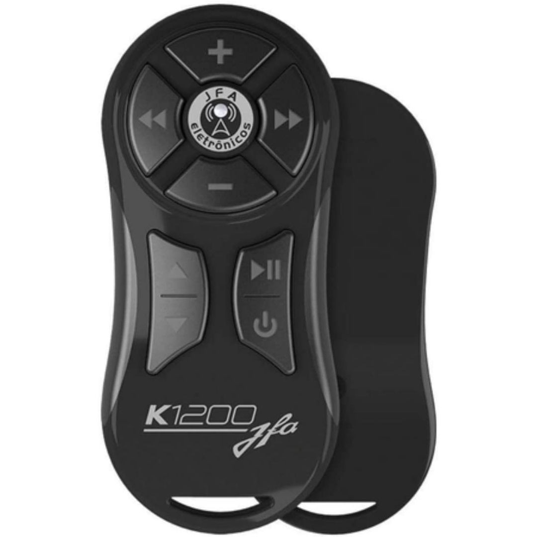 Controle Longa Distância JFA K1200 com Receptor - Preto