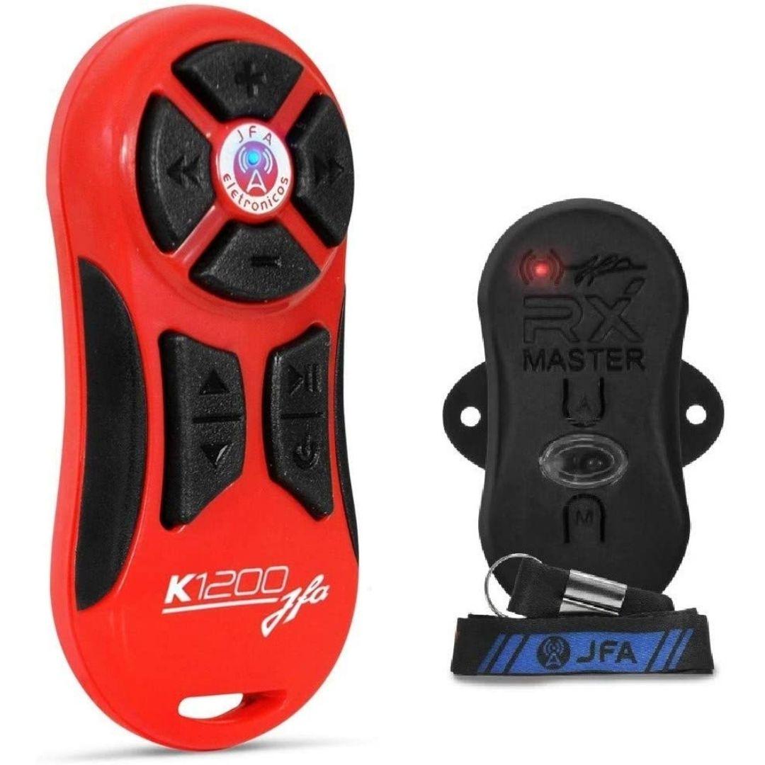 Controle Longa Distância JFA K1200 com Receptor - Vermelho