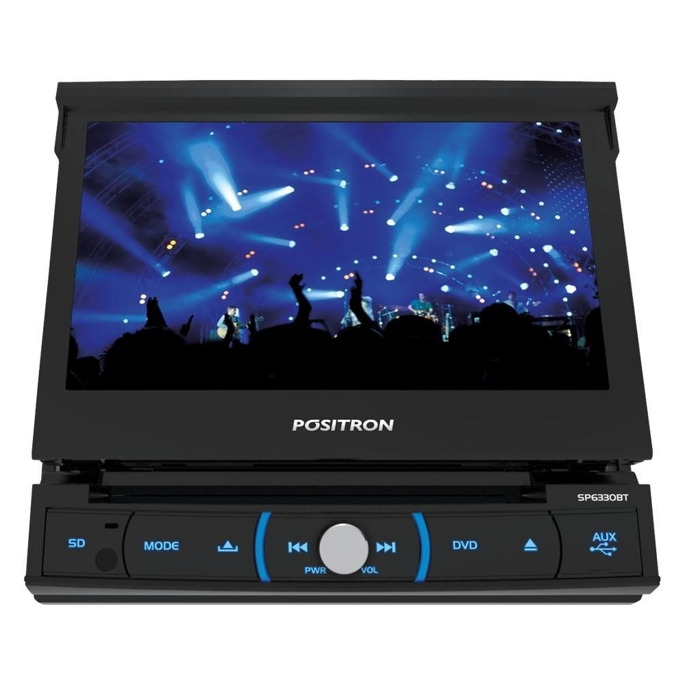 DVD Player Automotivo Pósitron SP6330BT com tela LCD 7