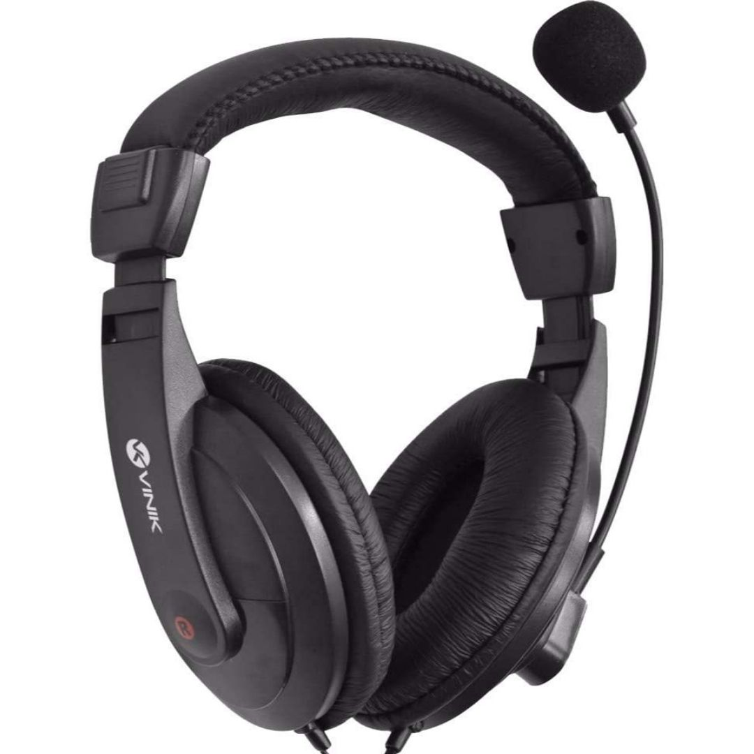 Fone Headset Go Play FM35 Preto Com Microfone VINIK