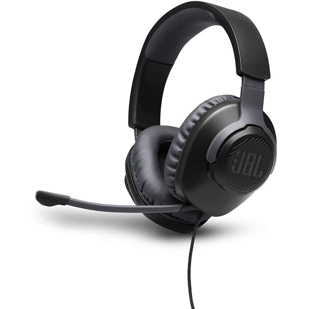 Headset Gamer JBL Quantum 100 para Consoles e PC - Preto