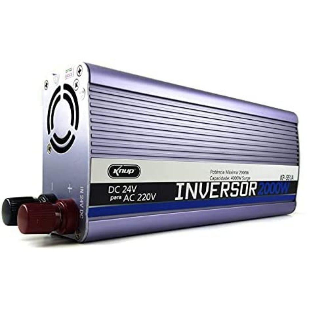 Inversor de Tensão Veicular 2000W 24V Para 2200V 50Hz KP-551A