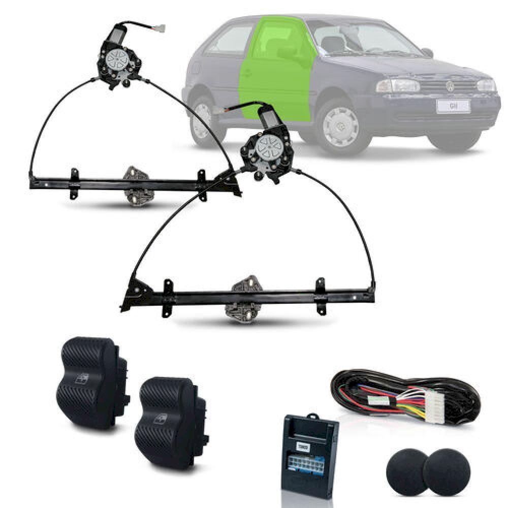 Kit Vidro Eletrico Gol G2 Parati Saveiro 2 Portas Bola Inteligente - Dial