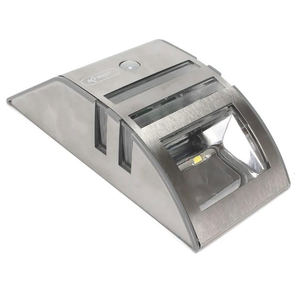 Luminária Solar com Sensor de Presença Knup KP-LU07/01