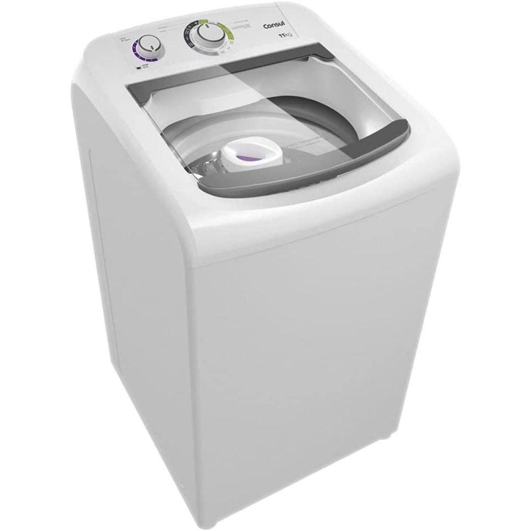Máquina de Lavar Automática Consul CWH11B Branca 11kg 220 V