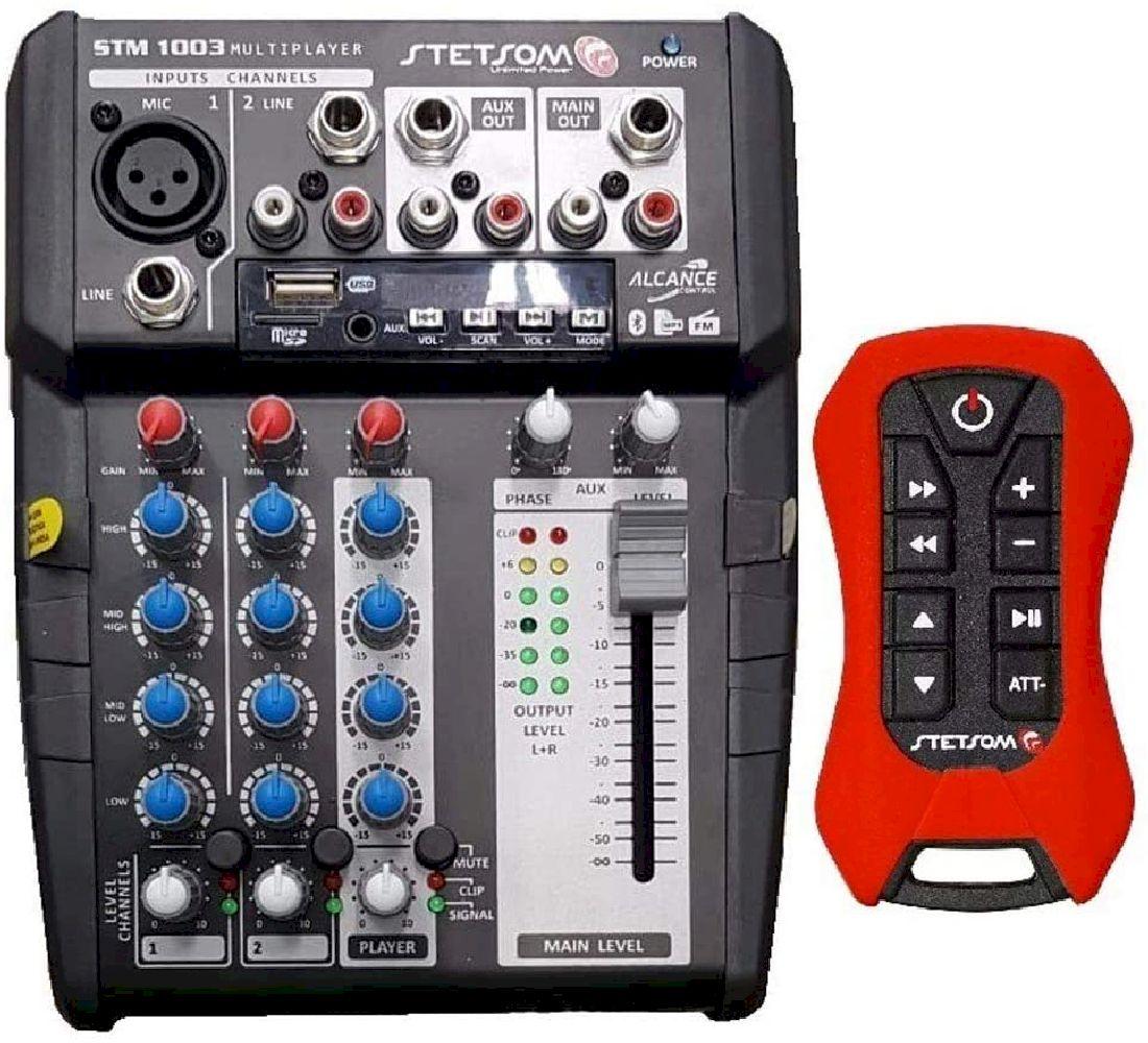 Mesa de Som Automotivo Com Controle 12V STM1003 - Stetsom