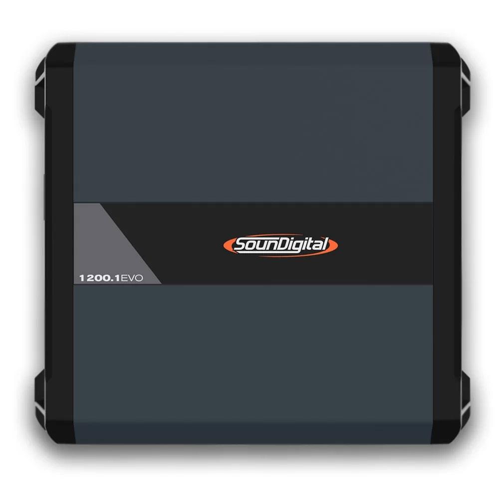Módulo Amplificador Automotivo Soundigital SD1200.1 EVO 4.0 2 Ohms