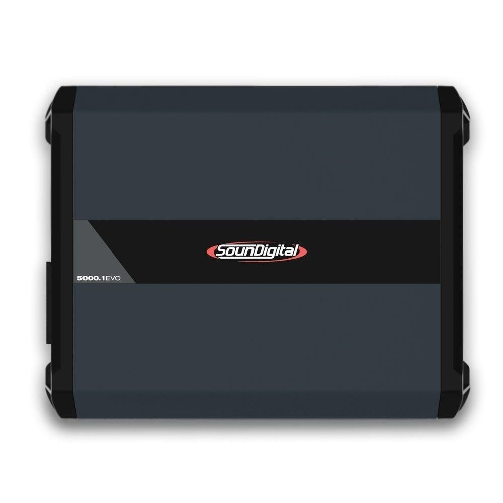 Módulo Amplificador Soundigital SD5000.1 Evo 4.0 - 1 Ohms / 2 Ohms