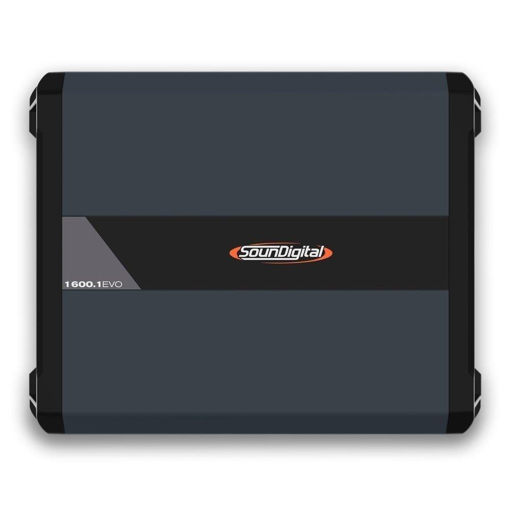 Módulo Amplificador Soundigital SD1600.1-1 EVO 4.0 1600WRMS